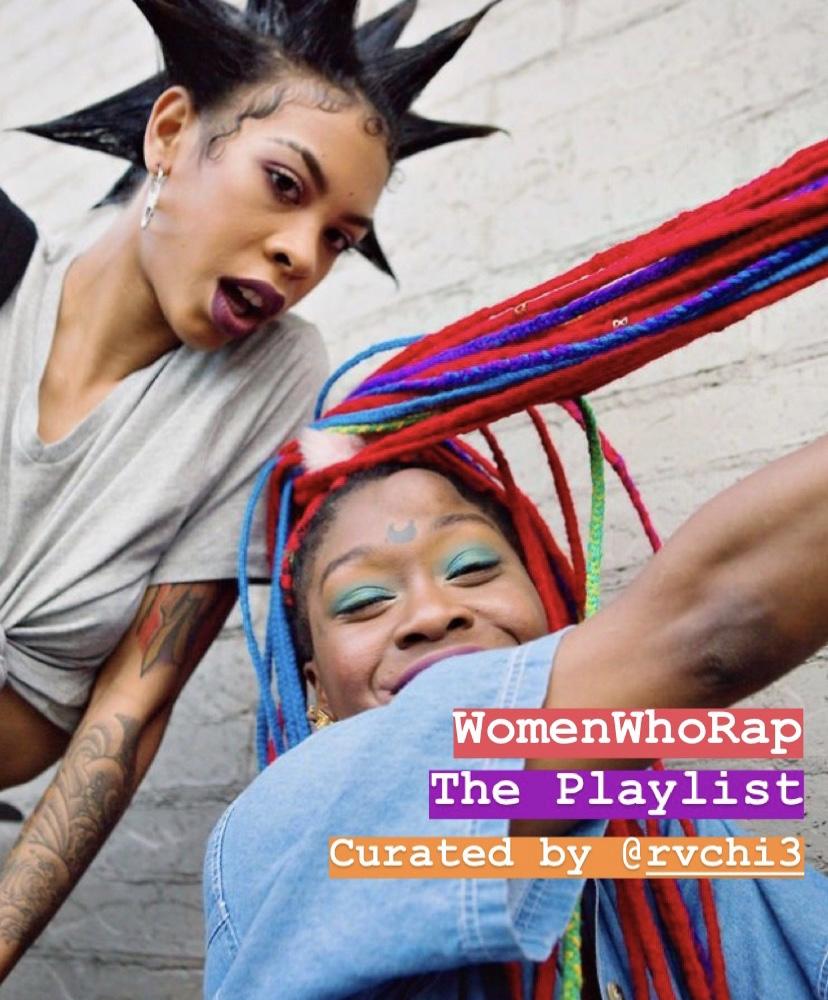 The WomenWhoRap Playlist